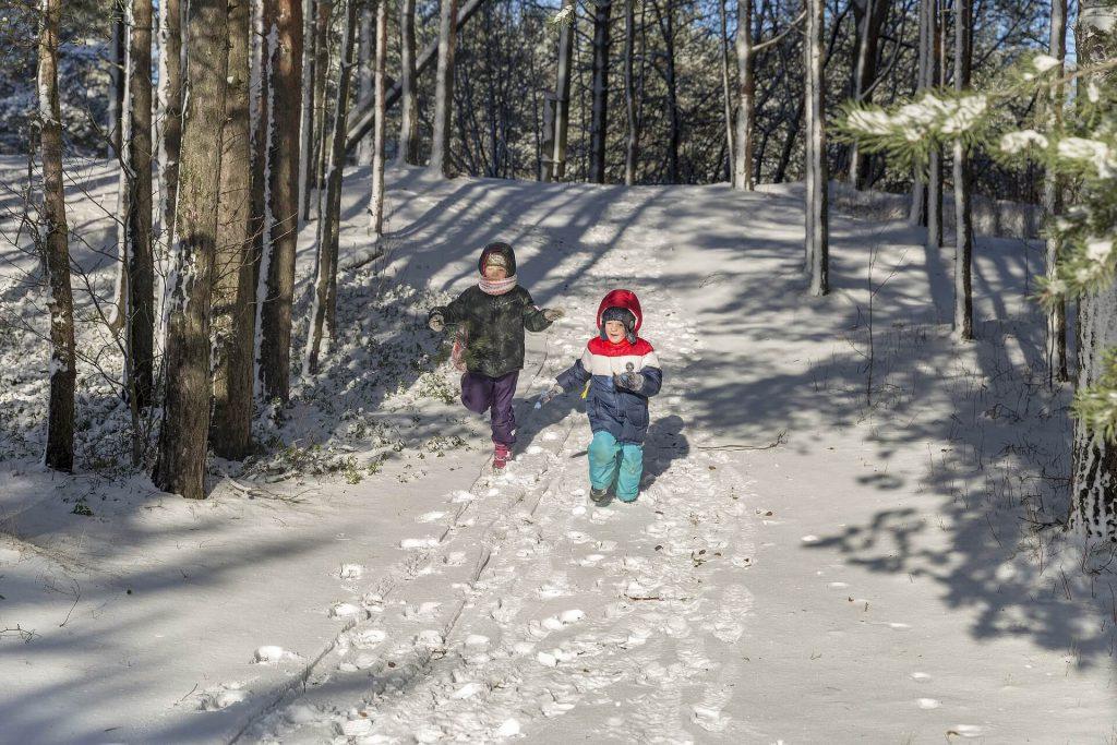 Schneeschuhwandern mit Kinder