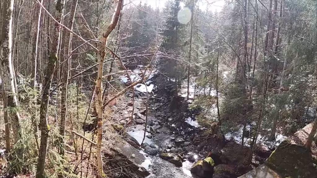 Brücke vor dem Wannenkopf im Allgäu