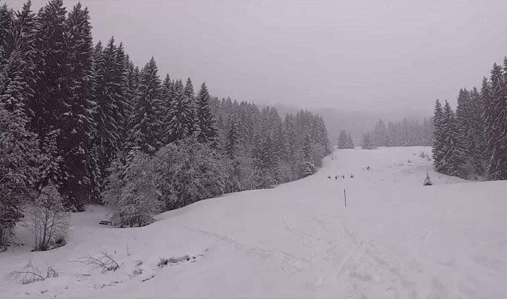 Schneeschuhwandern auf dem Wannenkopf