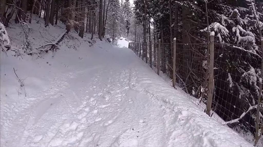 Aufstieg mit Schneeschuhen zum Wannenkopf